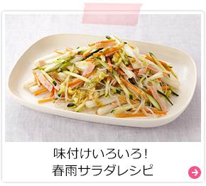 味付けいろいろ!春雨サラダレシピ