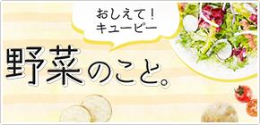 おしえて!キユーピー 野菜のこと。