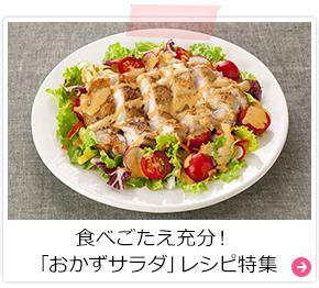 食べごたえ充分!「おかずサラダ」レシピ特集