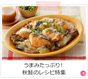 うまみたっぷり!秋鮭のレシピ特集