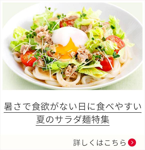 暑さで食欲がない日に食べやすい夏のサラダ麺特集