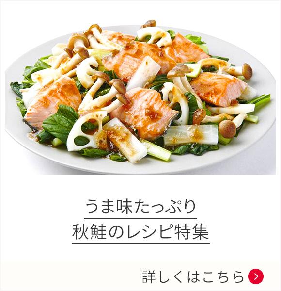 うま味たっぷり 秋鮭のレシピ特集