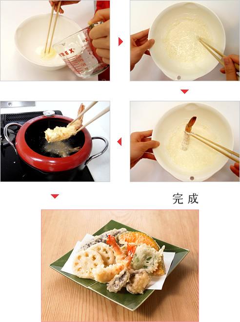 天ぷら 炭酸 水