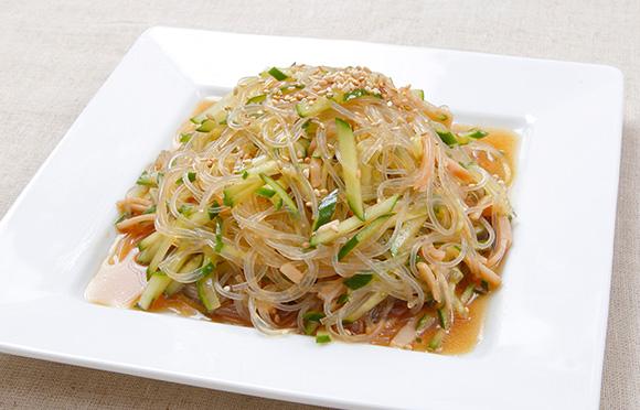 中華 春雨 サラダ